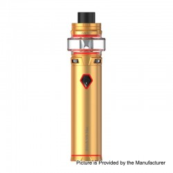 Authentic SMOKTech SMOK Stick V9 Max 4000mAh Mod + Stick V9 Max Tank Starter Kit - Gold, 0.15 Ohm, 8.5ml, 28mm Diameter