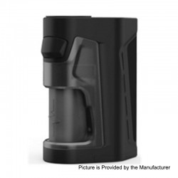 Authentic Vandy Vape Pulse Dual 220W TC VW Squonk Box Mod - Black, 5~220W, 7ml, 2 x 18650