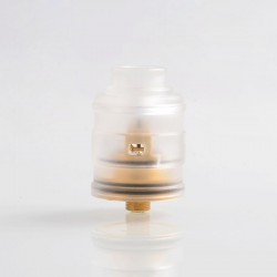 Authentic NCR Garage Hero Coil-less RTA Rebuildable Tank Atomizer - White, 0.2 Ohm (30~40W)