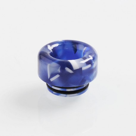 810 Replacement Drip Tip for TFV8 / TFV12 Tank / Goon / Kennedy / Reload RDA - Blue, Resin, 12mm