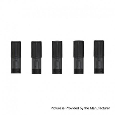 Authentic SMOKTech SMOK Replacement Pod Cartridge for SLM Pod System Kit - 0.8ml, 1.8 Ohm (5 PCS)