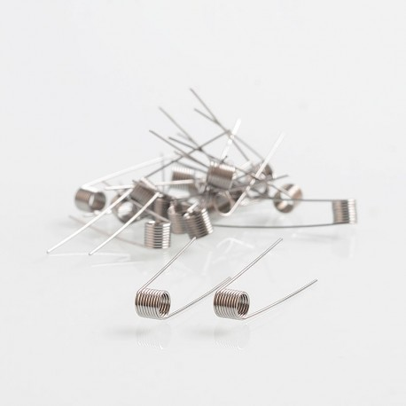 Authentic Vapjoy MTL Kanthal A1 Prebuilt Coil for RDA / RTA - 26GA, 1.0 Ohm, I.D 3mm (20 PCS)