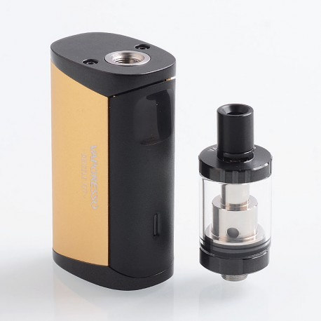 Authentic Vaporesso Drizzle Fit 1400mAh All-in-one Starter Kit - Gold, Stainless Steel, 1.8ml