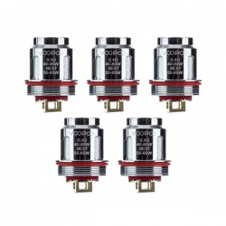 Authentic Voopoo U2 Replacement Coil for Uforce / Uforce T2 Tank - 0.4 Ohm (40~80W) (5 PCS)
