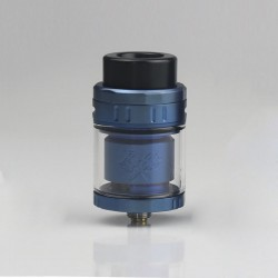 Authentic Acevape MK RTA Rebuildable Tank Atomizer - Blue, Stainless Steel, 5ml, 25mm Diameter