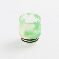 810 Replacement Drip Tip for TFV8 / TFV12 Tank / 528 Goon / Kennedy / Reload RDA - Green, Resin, 17.8mm, Glow-in-the-Dark