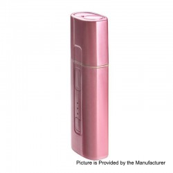 Authentic SMY Pluscig B3 1300mAh Heat Not Burn Device - Pink