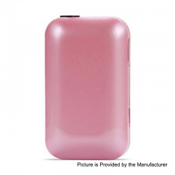 Authentic SMY Pluscig B2S 2900mAh Heat Not Burn Device - Pink