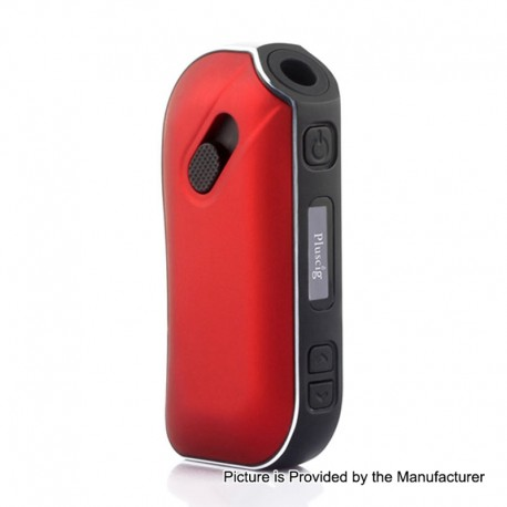 Authentic SMY Pluscig P2 1300mAh Heat Not Burn Device - Red