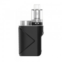Authentic GeekVape Lucid 80W TC VW Variable Wattage Box Mod + Lumi Tank Kit - Black, 5~80W, 1 x 18650, 0.3 Ohm, 4ml