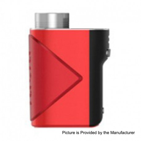 Authentic GeekVape Lucid 80W TC VW Variable Wattage Box Mod - Red, 5~80W, 1 x 18650
