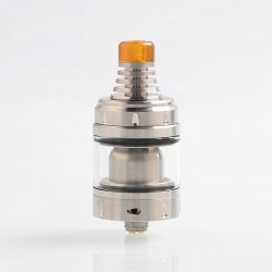 Authentic Vandy Vape Berserker V1.5 MTL RTA Rebuildable Tank Atomizer - Silver, Stainless Steel, 2.5ml, 24mm Diameter