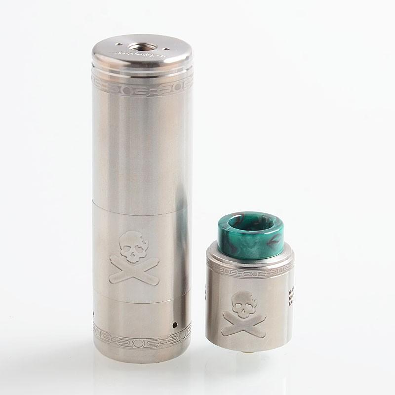 Buy Vandy Vape Bonza Kit Silver 21700 Mechanical Mod Bonza V1 5 RDA