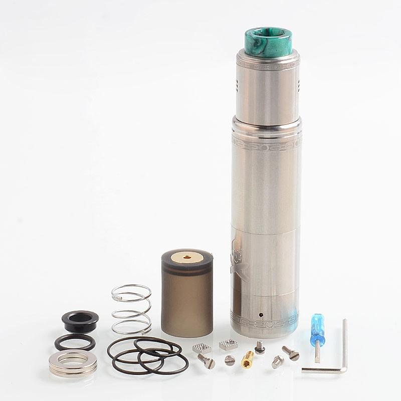 Buy Vandy Vape Bonza Kit Silver 21700 Mechanical Mod Bonza