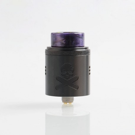 Authentic Vandy Vape Bonza V1.5 RDA Rebuildable Dripping Atomizer w/ BF Pin - Gun Metal, 24mm Diameter