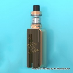 Authentic Vaporesso Luxe Nano 80W 2500mAh TC VW Box Mod + SKRR-S Mini Tank Kit - Bronze, 5~80W, 0.15 Ohm, 3.5ml