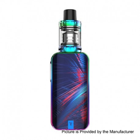 Authentic Vaporesso Luxe Nano 80W 2500mAh TC VW Box Mod + SKRR-S Mini Tank Kit - Rainbow, 5~80W, 0.15 Ohm, 3.5ml