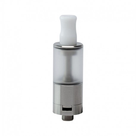 Dvarw Style MTL RTA Rebuildable Tank Atomizer - Silver, 316 Stainless Steel, 2ml, 16mm Diameter