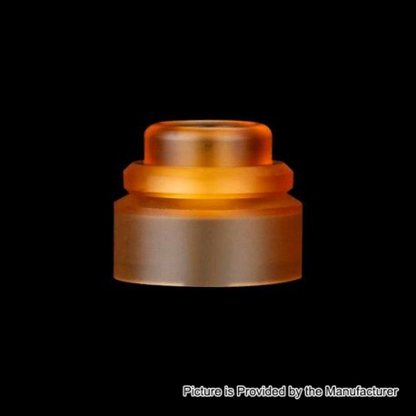 Authentic Gas Mods Replacement Color Cap for Nova RDA - Amber, PMMA
