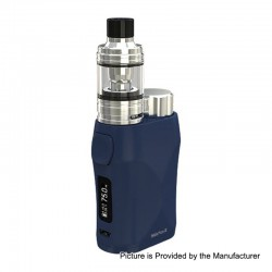 Authentic Eleaf iStick Pico X 75W TC VW Box Mod + MELO 4 Tank Kit - Blue, 1~75W, 1 x 18650, 2ml, 0.15 Ohm