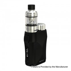 Authentic Eleaf iStick Pico X 75W TC VW Box Mod + MELO 4 Tank Kit - Black, 1~75W, 1 x 18650, 2ml, 0.15 Ohm