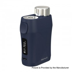 Authentic Eleaf iStick Pico X 75W TC VW Variable Wattage Box Mod - Blue, 1~75W, 1 x 18650