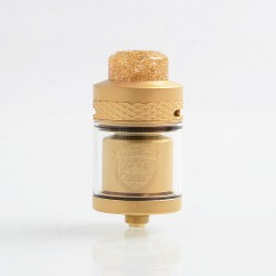 Authentic Wotofo Serpent Elevate RTA Rebuildable Tank Atomizer - Gold, Stainless Steel, 3.5ml, 24mm Diameter