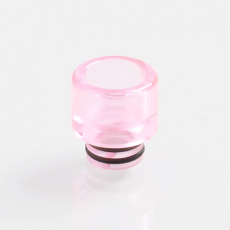 Authentic Vapjoy 510 Replacement MTL Drip Tip for RDA / RTA / Sub Ohm Tank Atomizer - Pink, Resin, 14mm