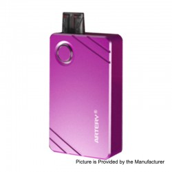 Authentic Artery Pal 2 1000mAh Pod System Starter Kit - Purple, Aluminum, 2ml, 0.6 Ohm / 1.2 Ohm