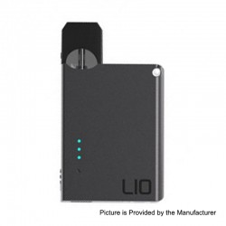 Authentic LIO Device 400mAh Pod System Starter Kit - Black, 0.7ml, 1.6 Ohm