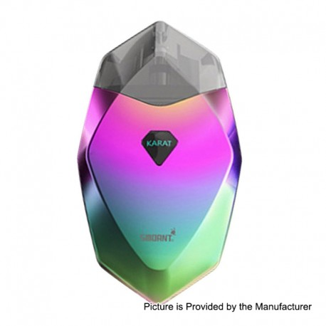 Authentic Smoant Karat 370mAh Pod System Starter Kit - Rainbow, 2ml, 1.3 Ohm