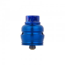 Authentic Wotofo Elder Dragon RDA RYUJIN RDA Rebuildable Dripping Atomizer w/ BF Pin - Blue, Stainless Steel, 22mm Diameter