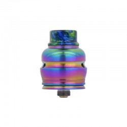 Authentic Wotofo Elder Dragon RDA RYUJIN RDA Rebuildable Dripping Atomizer w/ BF Pin - Rainbow, Stainless Steel, 22mm Diameter