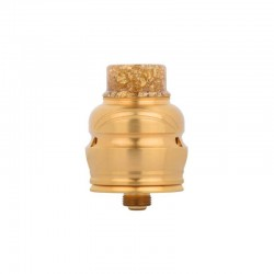 Authentic Wotofo Elder Dragon RDA RYUJIN RDA Rebuildable Dripping Atomizer w/ BF Pin - Gold, Stainless Steel, 22mm Diameter