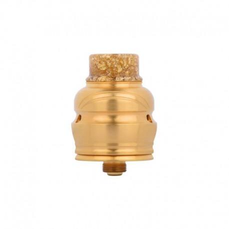 Authentic Wotofo Elder Dragon RDA RYUJIN RDA Rebuildable Dripping Atomizer w/ BF Pin - Gold, Stainless Steel, 22mm Diameter