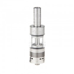 Authentic Ehpro Revel RDTA Rebuildable Dripping Tank Atomizer - Silver, Stainless Steel, 3ml, 22mm Diameter