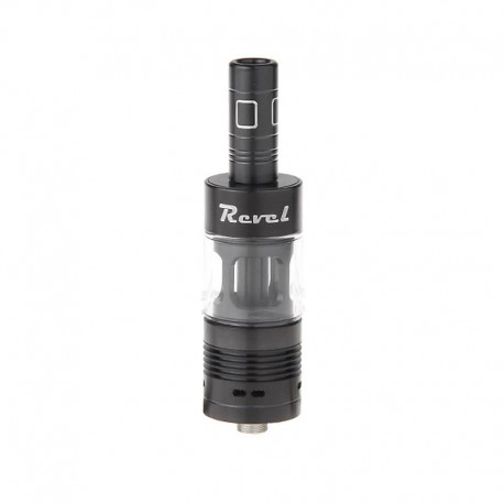 Authentic Ehpro Revel RDTA Rebuildable Dripping Tank Atomizer - Black, Stainless Steel, 3ml, 22mm Diameter