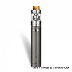 Authentic Maskking Trek 80W 2800mAh Mod + Piston RDA Starter Kit - Space Grey, Stainless Steel, 24mm Diameter