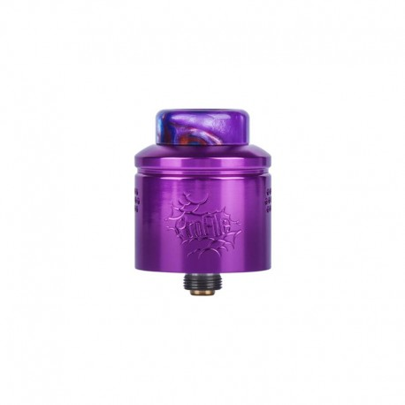 Authentic Wotofo Profile RDA Rebuildable Dripping Atomizer w/ BF Pin - Purple, Aluminum, 24mm Diameter