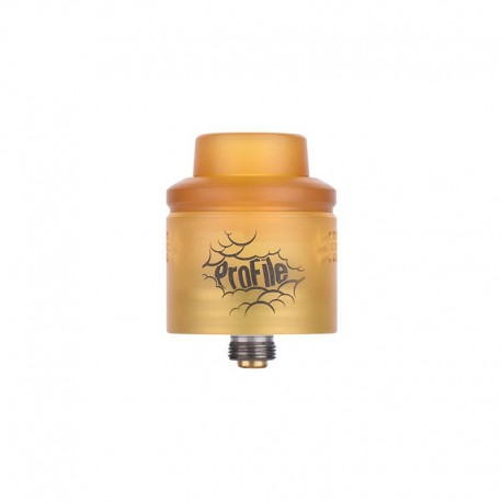 Authentic Wotofo Profile RDA Rebuildable Dripping Atomizer w/ BF Pin - Ultem, PEI + Stainless Steel, 24mm Diameter