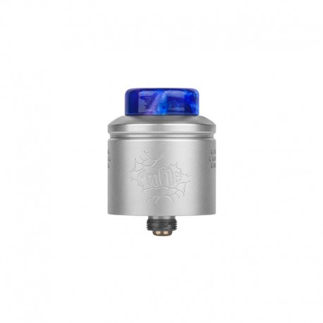 Authentic Wotofo Profile RDA Rebuildable Dripping Atomizer w/ BF Pin - Matte Steel, Stainless Steel, 24mm Diameter