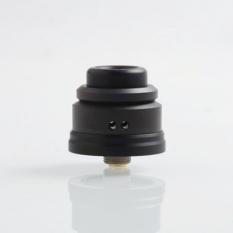 Authentic Gas Mods Nova RDA Rebuildable Dripping Atomizer w/ BF Pin - Black, Stainless Steel, 22mm Diameter
