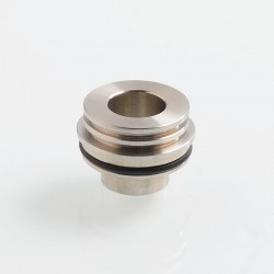 Coppervape Replacement Dripper 510 Drip Tip Adapter for Ka V6 Style RTA - Silver, 316 Stainless Steel