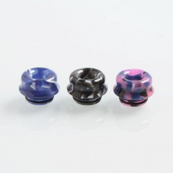 810 Replacement Drip Tip for TFV8 / TFV12 Tank / Goon / Kennedy / Reload RDA - Random Color, Resin, 12mm