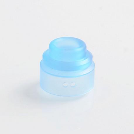 Authentic Gas Mods Replacement Color Cap for Nova RDA - Transparent Blue, PMMA