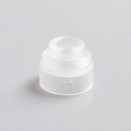 Authentic Gas Mods Replacement Color Cap for Nova RDA - Clear, PMMA