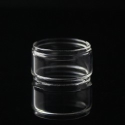 Authentic Advken Replacement Bubble Tank Tube for OWL Tank Atomizer - Transparent, Glass, 4.5ml