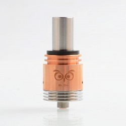 Authentic Ehpro Mr.Owl RDA Rebuildable Dripping Atomizer - Copper, Copper + Stainless Steel, 22mm Diameter