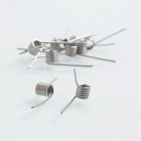 Authentic Vapjoy MTL Saber Kanthal A1 Prebuilt Coil for RDA / RTA - 22GA, 0.5 Ohm, I.D 3.0mm (10 PCS)