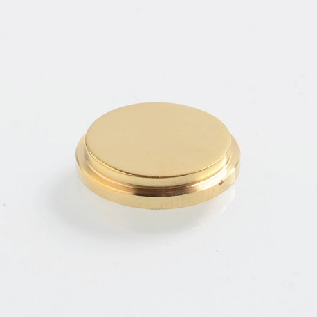 SXK Replacement Button for BB Style Box Mod - Brass, Brass